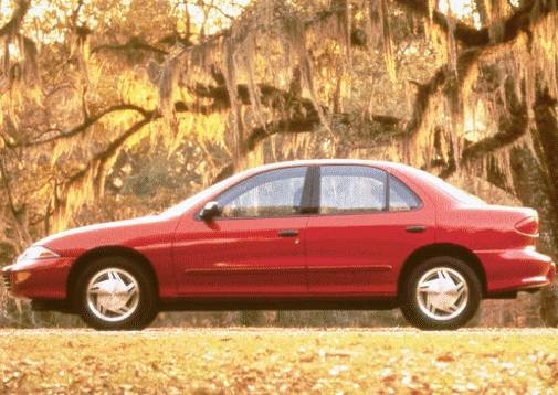 Most Popular Sedans of 1998 - 1998 Chevrolet Cavalier
