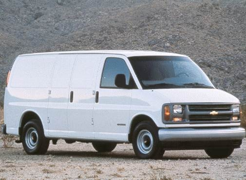 Highest Horsepower Van/Minivans of 1998 - 1998 Chevrolet G-Series 2500