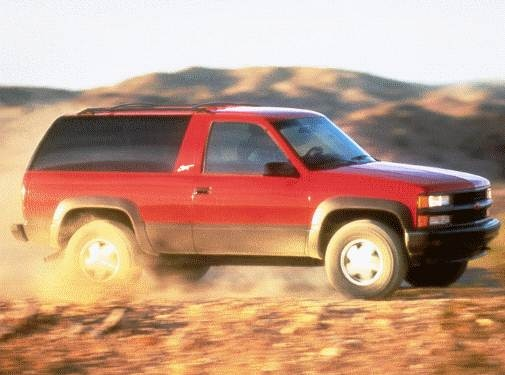 Highest Horsepower SUVS of 1998 - 1998 Chevrolet Tahoe
