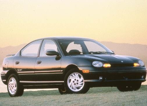 Most Fuel Efficient Sedans of 1998 - 1998 Dodge Neon