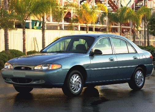 Most Popular Sedans of 1998 - 1998 Ford Escort