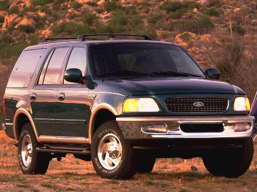 Highest Horsepower SUVS of 1998 - 1998 Ford Expedition