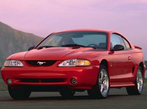Highest Horsepower Coupes of 1998 - 1998 Ford Mustang