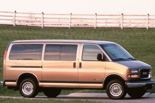 Highest Horsepower Van/Minivans of 1998 - 1998 GMC Savana 3500 Passenger