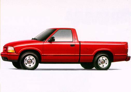 Most Fuel Efficient Trucks of 1998 - 1998 GMC Sonoma Regular Cab
