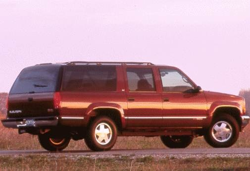 Highest Horsepower SUVS of 1998 - 1998 GMC Suburban 1500
