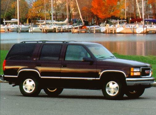 Highest Horsepower SUVS of 1998 - 1998 GMC Yukon