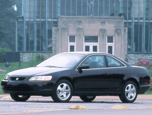 Most Popular Coupes of 1998 - 1998 Honda Accord