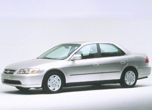 Most Popular Sedans of 1998 - 1998 Honda Accord
