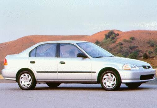 Most Fuel Efficient Sedans of 1998 - 1998 Honda Civic