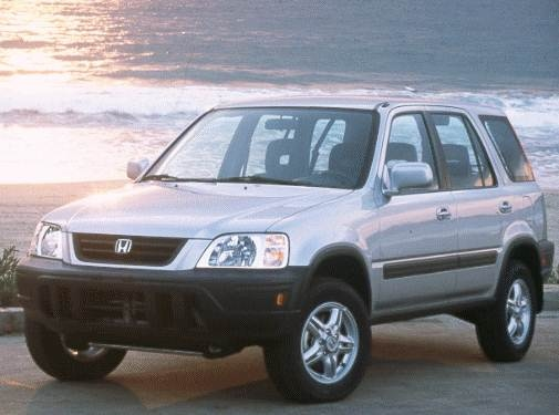 Top Consumer Rated Crossovers of 1998 - 1998 Honda CR-V