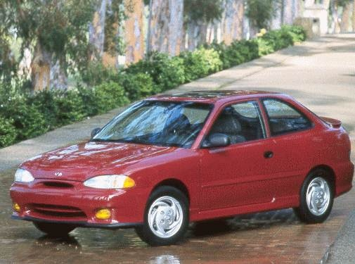 Most Fuel Efficient Hatchbacks of 1998 - 1998 Hyundai Accent