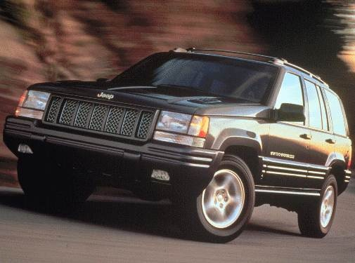 Highest Horsepower SUVS of 1998 - 1998 Jeep Grand Cherokee