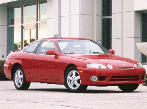Top Consumer Rated Luxury Vehicles of 1998 - 1998 Lexus SC