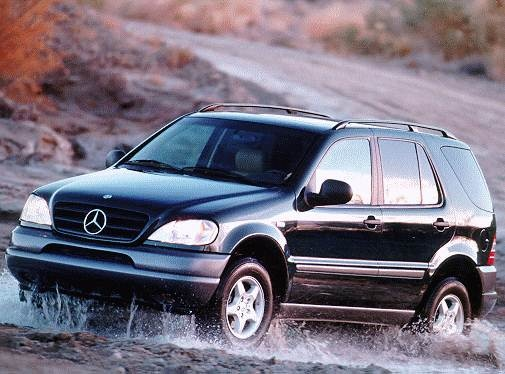 Top Consumer Rated Crossovers of 1998 - 1998 Mercedes-Benz M-Class