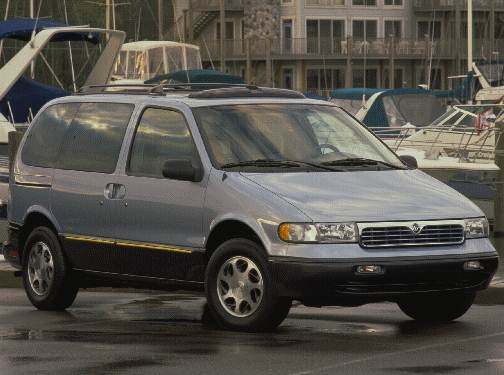 Top Consumer Rated Van/Minivans of 1998 - 1998 Mercury Villager