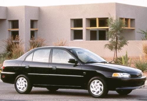 Most Fuel Efficient Sedans of 1998 - 1998 Mitsubishi Mirage