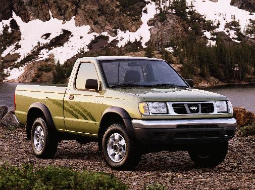 Most Fuel Efficient Trucks of 1998 - 1998 Nissan Frontier Regular Cab
