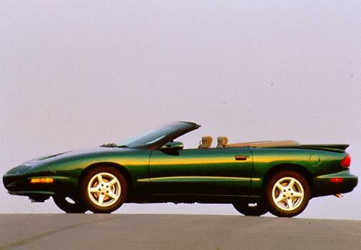 Most Fuel Efficient Convertibles of 1998 - 1998 Pontiac Firebird