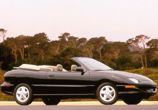 Most Fuel Efficient Convertibles of 1998 - 1998 Pontiac Sunfire