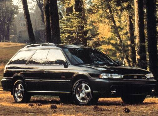 Most Fuel Efficient Wagons of 1998 - 1998 Subaru Legacy