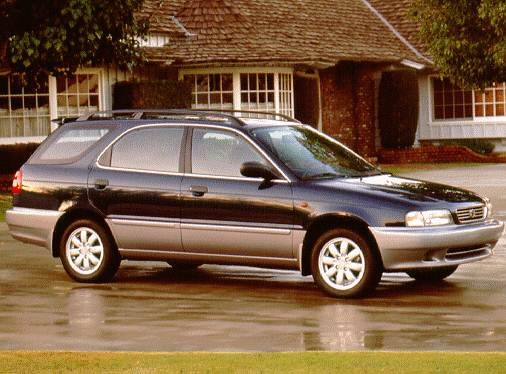 Most Fuel Efficient Wagons of 1998 - 1998 Suzuki Esteem