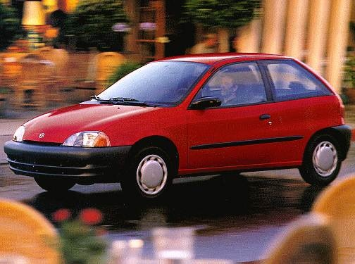 Most Fuel Efficient Hatchbacks of 1998 - 1998 Suzuki Swift