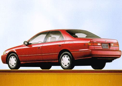 Most Popular Sedans of 1998 - 1998 Toyota Camry