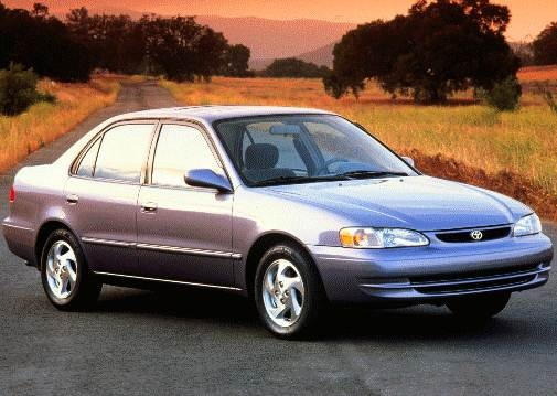 Most Popular Sedans of 1998 - 1998 Toyota Corolla