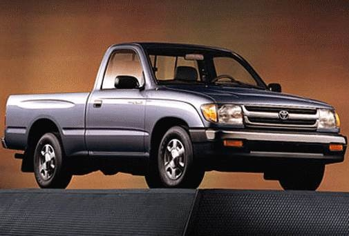 Most Fuel Efficient Trucks of 1998 - 1998 Toyota Tacoma Regular Cab
