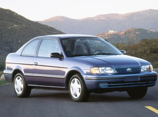 Most Fuel Efficient Sedans of 1998 - 1998 Toyota Tercel