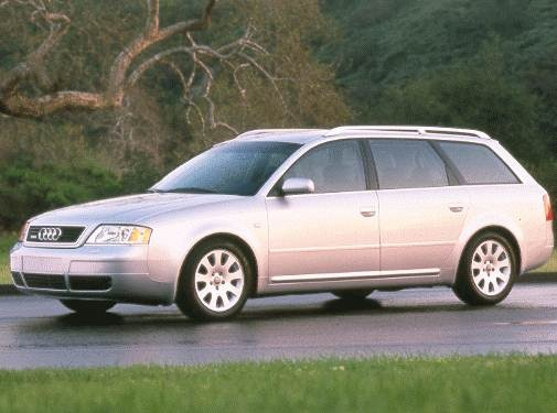 Most Popular Wagons of 1999 - 1999 Audi A6
