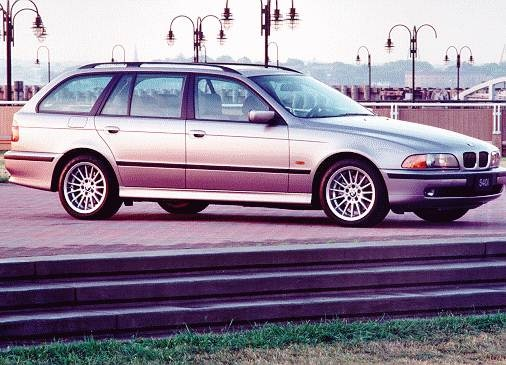 Most Popular Luxury Vehicles of 1999 - 1999 BMW 5 Series