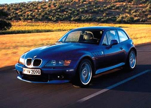 Top Consumer Rated Coupes of 1999 - 1999 BMW Z3
