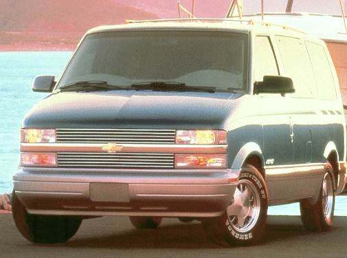 Most Popular Van/Minivans of 1999 - 1999 Chevrolet Astro Passenger