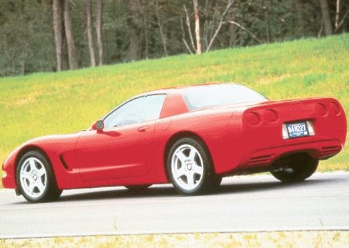 Top Consumer Rated Coupes of 1999 - 1999 Chevrolet Corvette