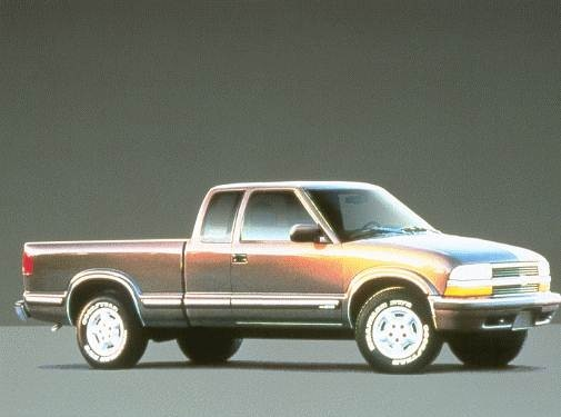 Most Fuel Efficient Trucks of 1999 - 1999 Chevrolet S10 Extended Cab