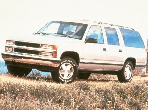 Highest Horsepower SUVS of 1999 - 1999 Chevrolet Suburban 1500