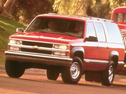 Highest Horsepower SUVS of 1999 - 1999 Chevrolet Suburban 2500