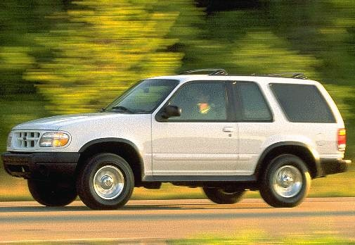 Most Popular SUVS of 1999 - 1999 Ford Explorer