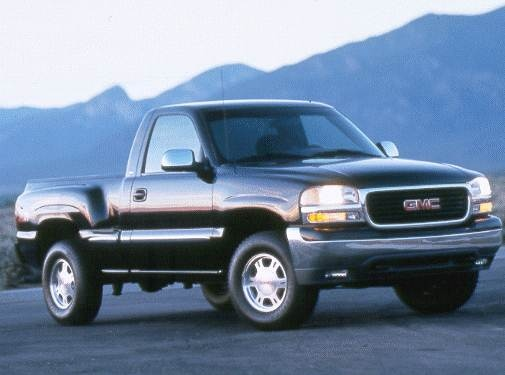 Top Consumer Rated Trucks of 1999 - 1999 GMC Sierra 1500 Regular Cab