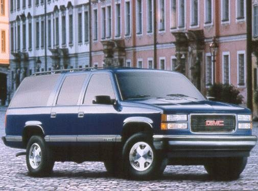 Highest Horsepower SUVS of 1999 - 1999 GMC Suburban 2500