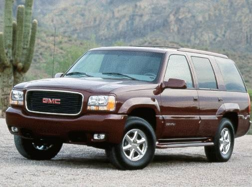 Highest Horsepower SUVS of 1999 - 1999 GMC Yukon