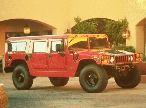 Top Consumer Rated Wagons of 1999 - 1999 HUMMER H1