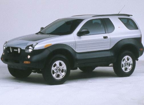 Highest Horsepower Crossovers of 1999 - 1999 Isuzu VehiCROSS