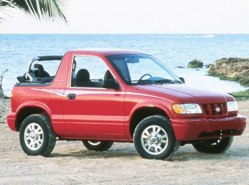 Highest Horsepower Crossovers of 1999 - 1999 Kia Sportage