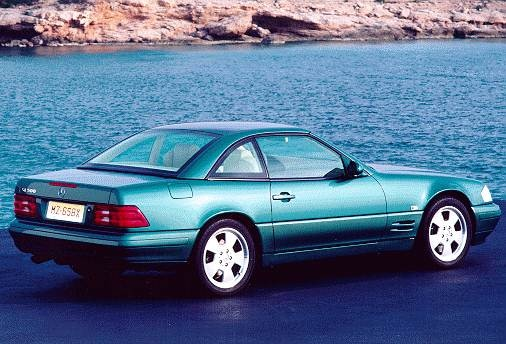 Top Consumer Rated Convertibles of 1999 - 1999 Mercedes-Benz SL-Class