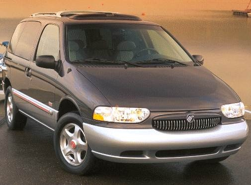 Top Consumer Rated Van/Minivans of 1999 - 1999 Mercury Villager