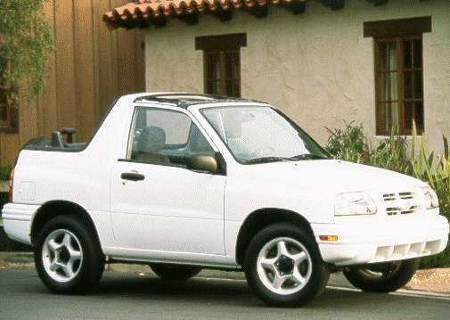 Top Consumer Rated Crossovers of 1999 - 1999 Suzuki Vitara