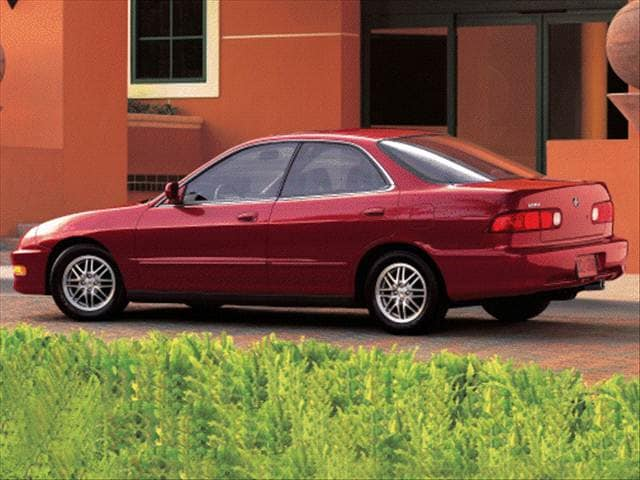 Most Popular Luxury Vehicles of 2000 - 2000 Acura Integra